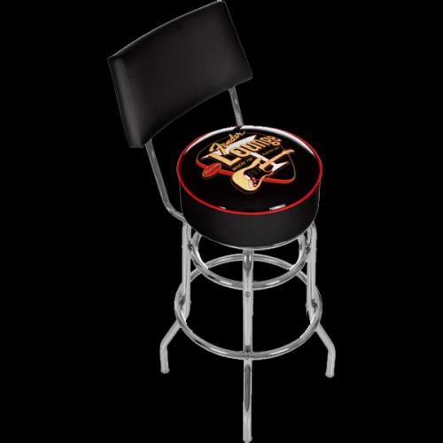 Fantastic Fender 30 Barstool Back Seat Stool Chair W Back Electro Black Electro Black Brand New 149 99 Camellatalisay Diy Chair Ideas Camellatalisaycom