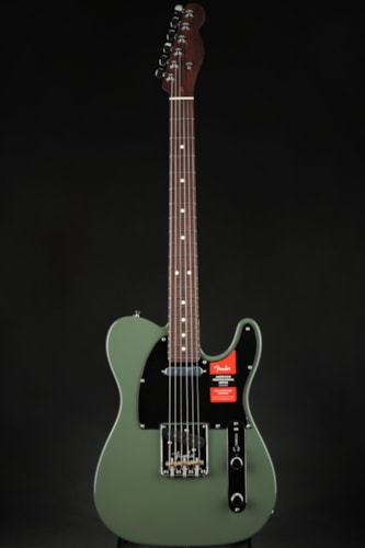 Fender 2019 Limited Edition American Professional Telecaster, Solid Rosewood Neck - Antique Olive