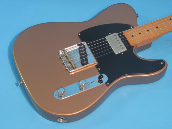 Fender 52 Re-issue Telecaster Copper, Excellent, Hard, $1,495.00