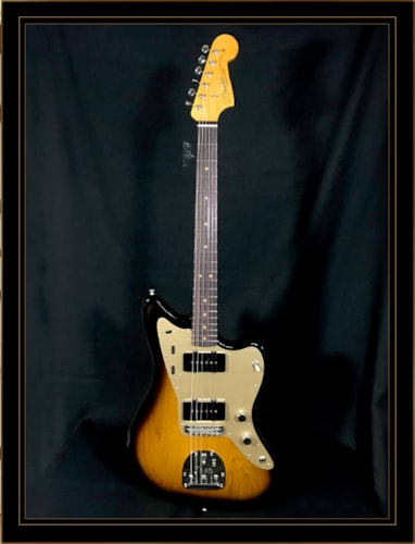 Fender 60th Anniversary '58 Jazzmaster Limited Edition 2-Tone Sunburst, Brand New, Original Hard