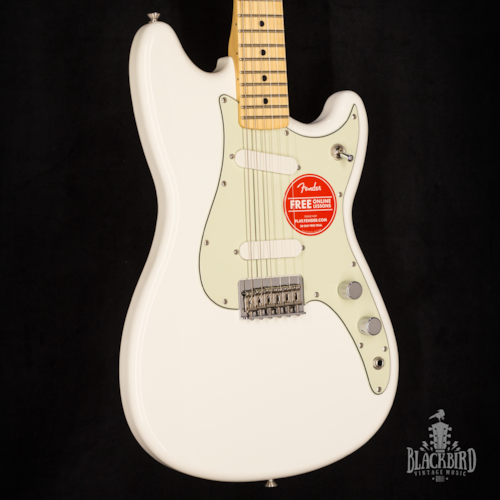 2017 Fender Duo-Sonic - Offset Series White