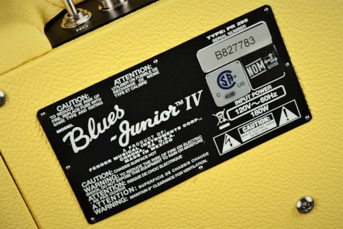 Fender 2020 Limited Edition Blues Junior IV, Eminence, Swamp Thang, Graffiti Yellow