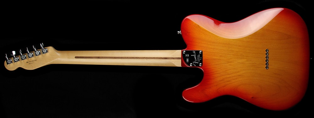 Fender American Deluxe Telecaster Electric Guitar Antique Cherry Sunburst Cherry Sunburst, Excellent, $1,499.00