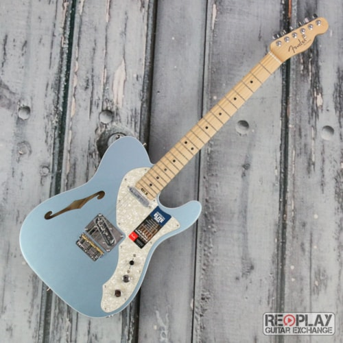 Fender American Elite Telecaster Thinline - Mystic Ice Blue Brand New, $1,999.99