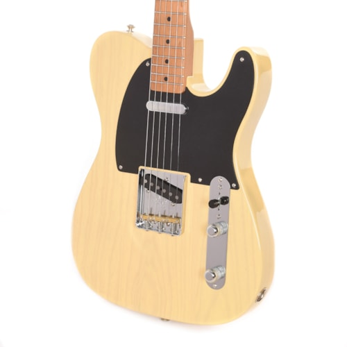 """Fender American Original '50s Telecaster """"Thin Lacquer"""" Blackguard Blonde w/Roasted Maple Neck (Serial# V1970910) (CME Exclusive) B-STOCK"""