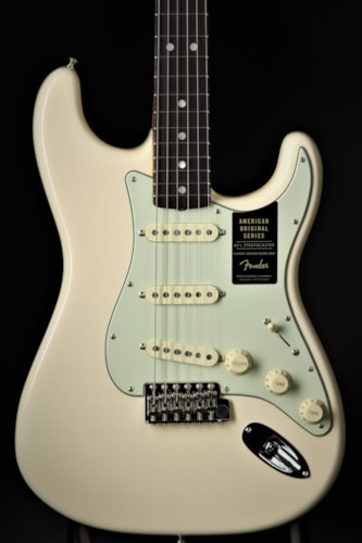 Fender American Original '60s Stratocaster - Olympic White (1960 Reissue) Brand New, Hard