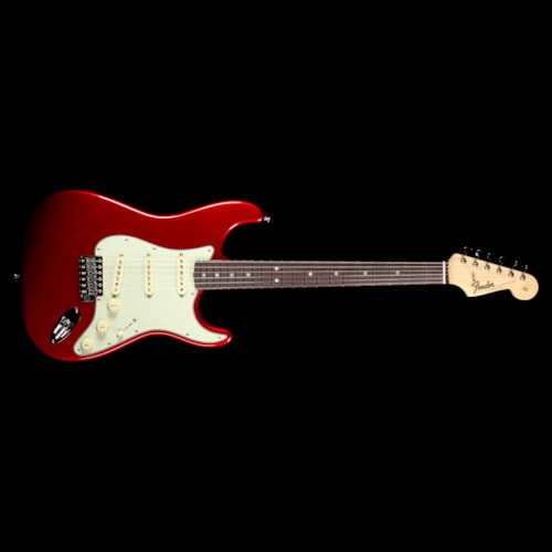 Fender American Original '60s Stratocaster Electric Guitar Candy Apple Red