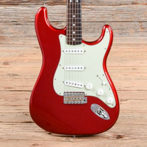 Fender American Original '60s Stratocaster Candy Apple Red 2017