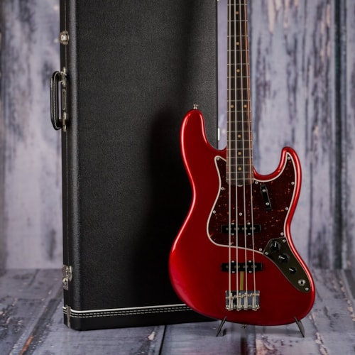 Used Fender American Original 60s Jazz Bass - Red