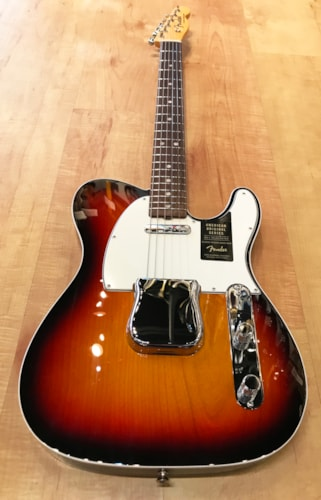Fender American Original '60s Telecaster 3-Color Sunburst Electric Guitar