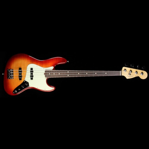 Fender American Pro Jazz Bass Limited Edition FMT Electric Bass Aged Cherry Burst Brand New, $1,999.99