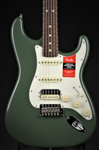 Fender American Professional Stratocaster HSS Shawbucker - Antique  Brand New, Hard