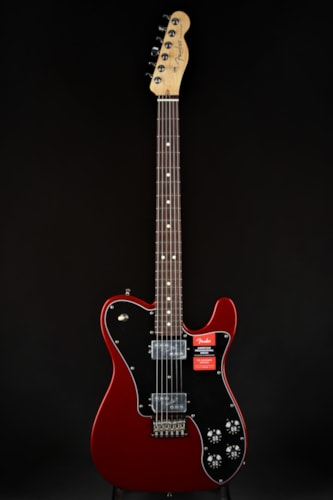 Fender American Professional Telecaster Deluxe Shawbucker- Candy Ap Brand New, Hard