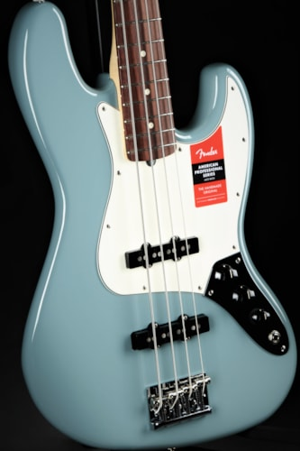 Fender American Professional Jazz Bass - Sonic Gray Brand New, Hard, $1,549.99
