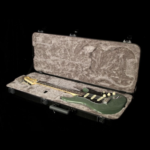 Fender American Professional Stratocaster Electric Guitar Antique Olive Brand New, $1,449.99