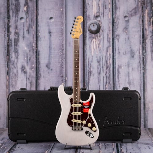 Used Fender American Professional Stratocaster, White Blonde