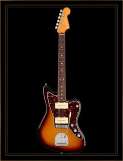 Fender American Ultra Jazzmaster in Ultraburst with Rosewood Fingerboard