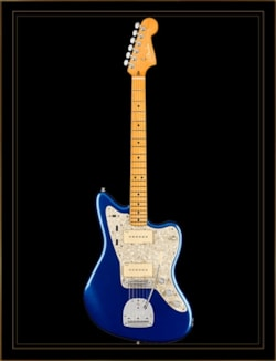 Fender American Ultra Jazzmaster in Cobra Blue with Maple Fingerboard