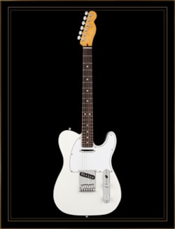 Fender American Ultra Telecaster in Arctic Pearl with Rosewood Fingerboard