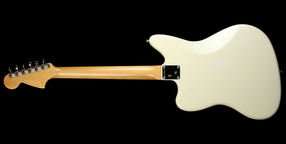 Fender American Vintage '62 Jaguar Electric Guitar Olympic White Olympic White, Excellent, $1,499.00