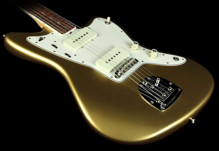 Fender American Vintage '65 Jazzmaster Electric Guitar Aztec Gold Brand New, $2,299.99