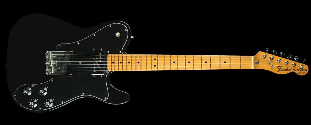 Fender American Vintage '72 Telecaster Custom Electric Guitar Black Brand New, $1,549.99