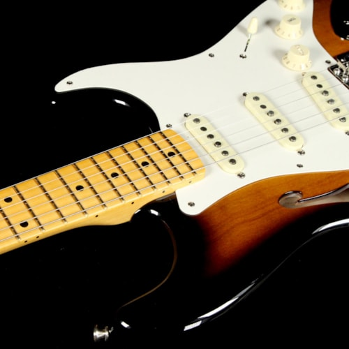 Fender Artist Series Eric Johnson Signature Stratocaster Thinline 2-Tone Sunburst