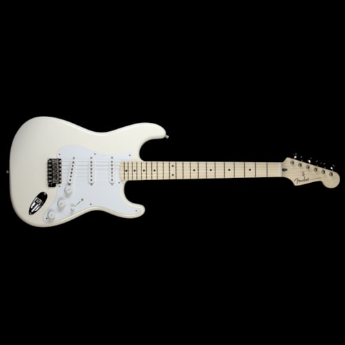 Fender Artist Series Jimmie Vaughan Tex Mex Stratocaster Electric Guitar Olympic White Brand New