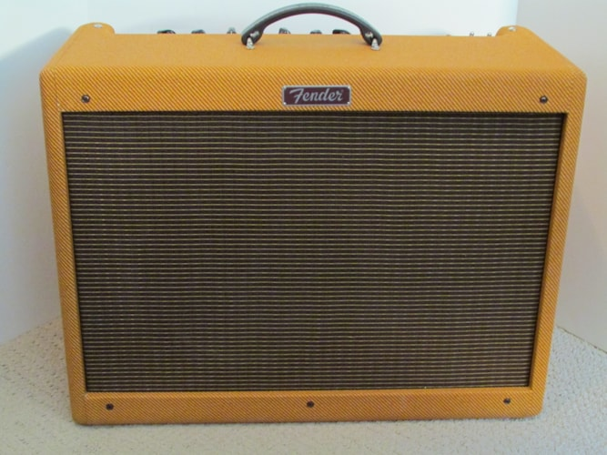 Fender® Blues Deluxe Reissue Lacquered Tweed Lacquered Tweed, Mint, Original Soft, $525.00
