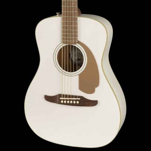 Fender California Series Malibu Player Acoustic Arctic Gold Brand New