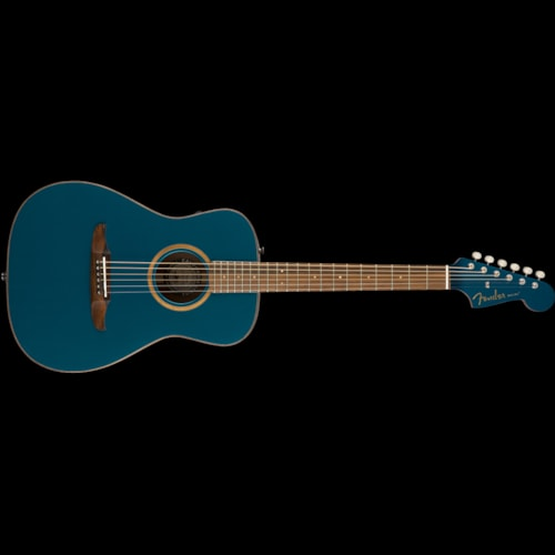 Fender California Series Malibu Classic Acoustic Cosmic Turquoise Brand New $799.99