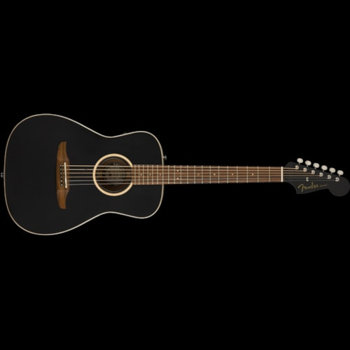Fender California Series Malibu Special Acoustic Matte Black Brand New