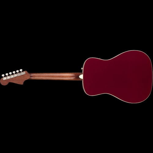 Fender California Series Malibu Player Acoustic Candy Apple Red Brand New $399.99