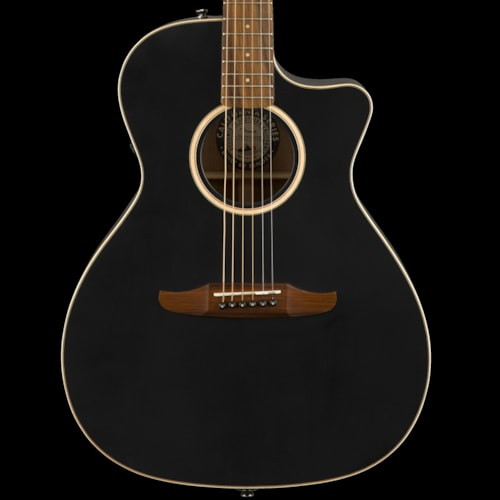 Fender California Series Newporter Special Acoustic Matte Black Brand New