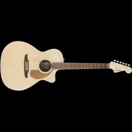 Fender California Series Newporter Player Acoustic Champagne Brand New