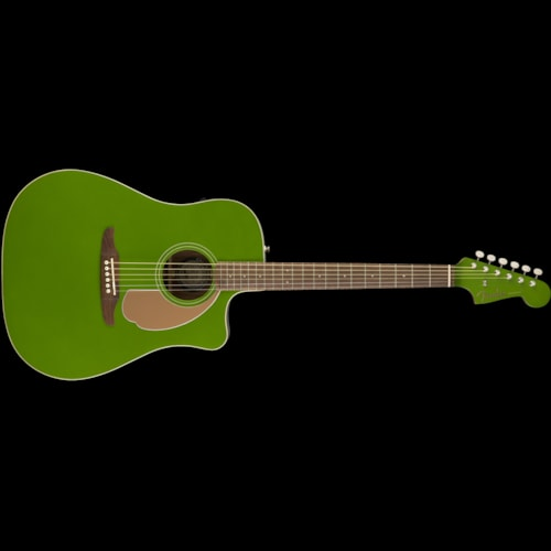 Fender California Series Redondo Player Acoustic Jade Brand New $399.99