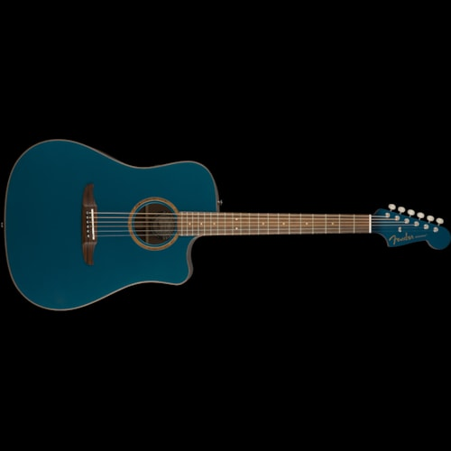 Fender California Series Redondo Classic Acoustic Cosmic Turquoise Brand New $799.99