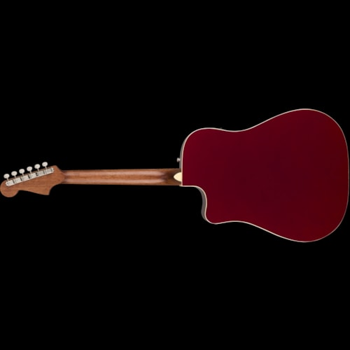 Fender California Series Redondo Player Acoustic Candy Apple Red Brand New