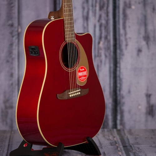 Fender California Series Redondo Player, Candy Apple Red