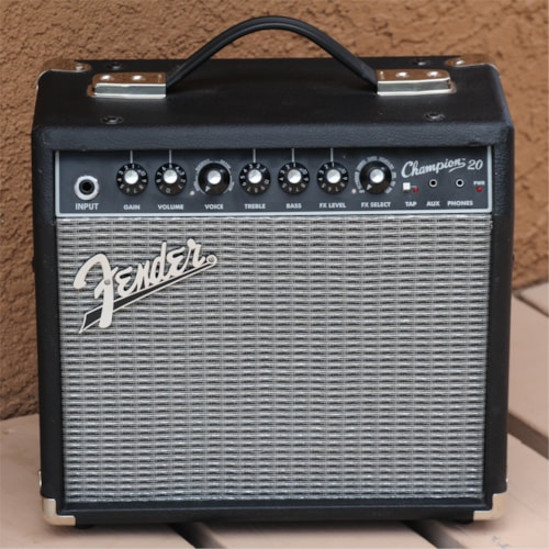 Fender Champion 20 Practice Guitar Amplifier - Versatile - Lots of Sounds