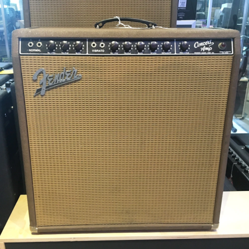 Fender Concert Amp 1962 Brown Tolex (Pre-Owned) (Joe Satriani Private Collection)