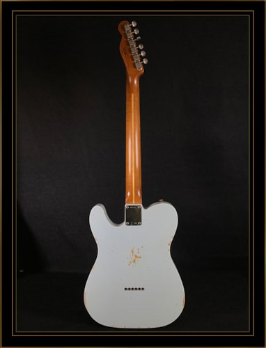 Fender Custom Shop 1960 Relic Telecaster Custom Sonic Blue, Brand New, Original Hard, $3,495.00