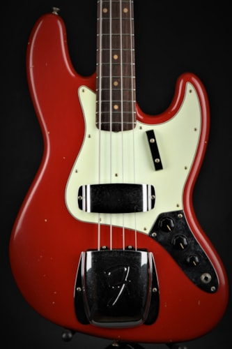 Fender Custom Shop 1962 Journeyman Jazz Bass - Dakota Red (1962 Reissue) Brand New, Hard, $3,749.00