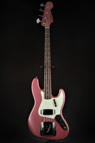 Fender Custom Shop 1962 Journeyman Jazz Bass - Burgundy Mist Metall (1962 Reissue) Brand New, Hard