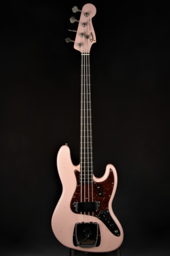 Fender Custom Shop 1962 Journeyman Jazz Bass - Shell Pink (1962 Reissue) Brand New, Hard, $3,749.00