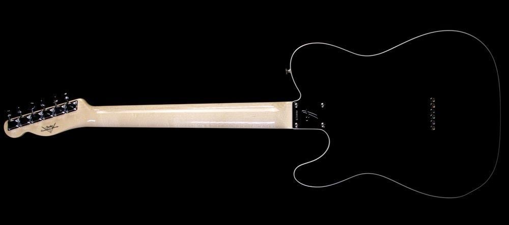 Fender Custom Shop 2013 Fender Custom Shop '69 Telecaster Thinline NOS Electric Guitar Black Black, Excellent, $3,299.00