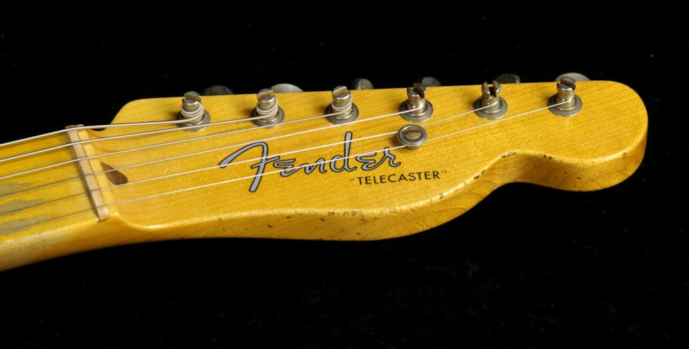 Fender Custom Shop 2016 Limited Edition '51 Telecaster Heavy Relic Electric Guitar Faded Nocaster Blonde Faded Nocaster Blonde, Brand New, $3,700.00