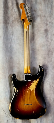 Fender Custom Shop '55 Reissue Heavy Relic Hardtail Stratocaster Faded 2-Tone Sunburst