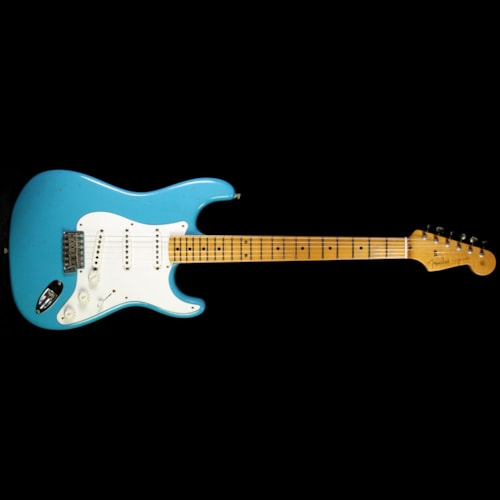 Fender Custom Shop '56 Stratocaster Journeyman Relic Electric Guitar Taos Turquoise