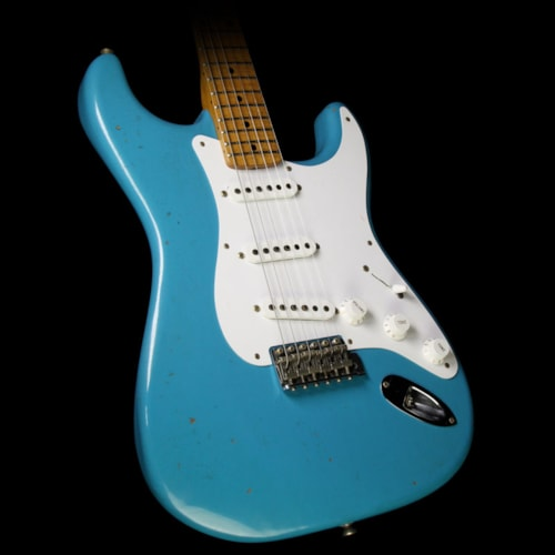 Fender Custom Shop '56 Stratocaster Journeyman Relic Electric Guitar Taos Turquoise Taos Turquoise, Brand New, $3,600.00